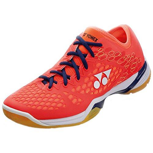 Yonex , Herren Badmintonschuhe, rot - korallenrot - Größe: 43