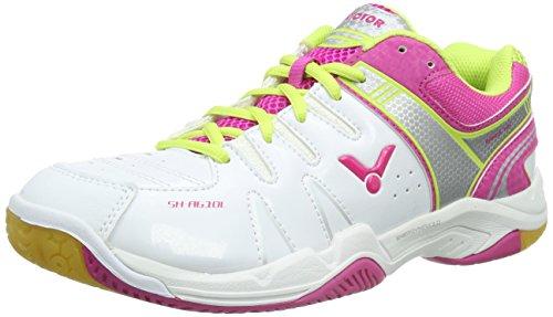 VICTOR VICTOR SH-A610L, Unisex-Erwachsene Badmintonschuhe, Pink (Pink), 37 EU (4.5 Erwachsene UK)
