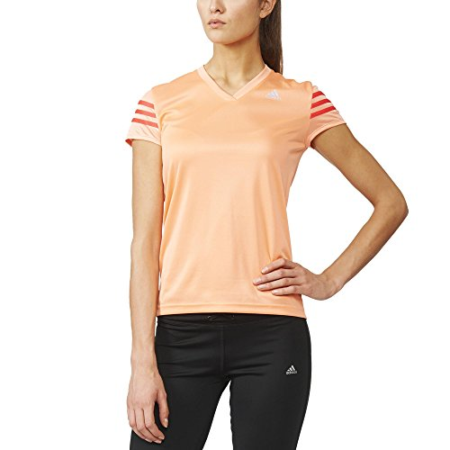 adidas Damen Oberbekleidung Response Cap Shortsleeve, rosa, XS, AI8269