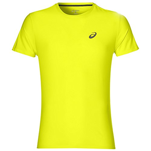 Asics SS TOP T-Shirt, Herren XXL Gelb (safety yellow)