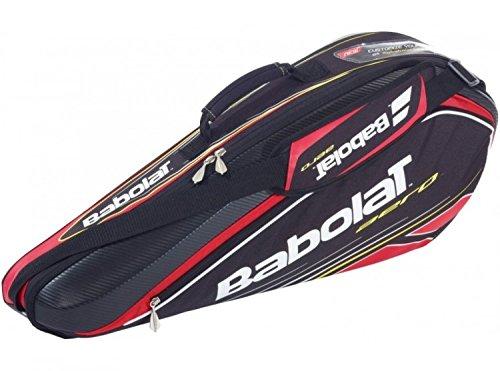 Babolat Schlägertasche Racket Holder X3 Aero Line, schwarz, 76 x 18 x 33 cm, 45 Liter, 751040-144