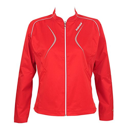 Babolat Damen Trainingsjacke Club Women, rot, M, 41F1225-104