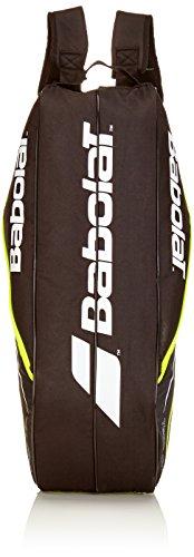 Babolat Schlägertasche Racket Holder Junior Team Line Black Yellow, gelb, 68 x 25 x 32 cm, 54 Liter, 751123-142