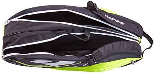 Babolat Schlägertasche Racket Holder Junior Team Line Black Yellow, gelb, 68 x 25 x 32 cm, 54 Liter, 751123-142 -