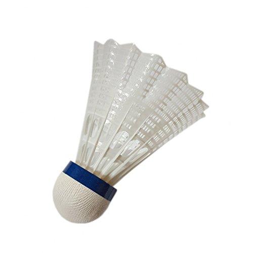 BABOLAT Cup Nylon 6er Pack Federbälle weiss verschiedene Größen, Farbe:weiß, Modell:SLOW -