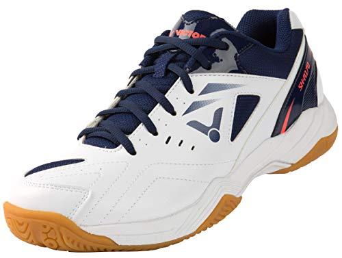 VICTOR Unisex SH-A170 Badminton-Schuh, Weiß/Blau, 44 EU