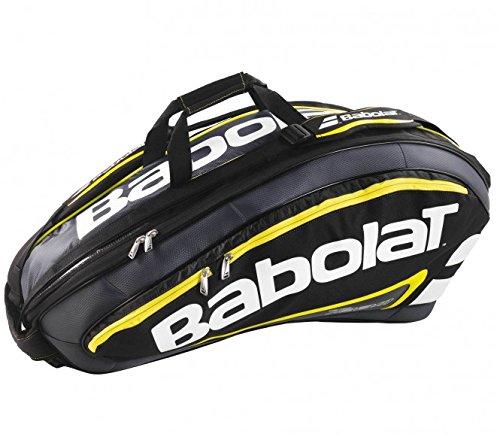 Babolat Schlägertaschen Racket Holder X9 Team Line, Schwarz, 76 x 35 x 34 cm, 63 Liter, 751090-142