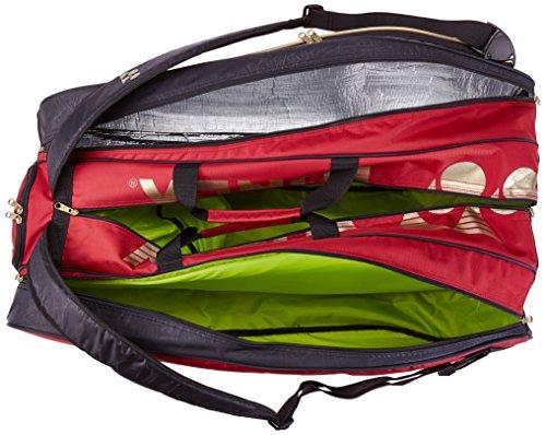 Yonex Schlägertasche Pro Racket Thermobag 9er, rot, 78 x 36 x 34 cm, 95 Liter, H96296-25 -