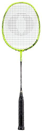 Oliver Spider Badminton Schläger Racket besaitet gelb schwarz